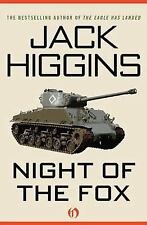 Night of the Fox by Jack Higgins (2012, Paperback)