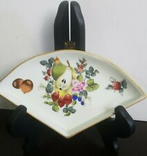 "Herend Trinket Dish Fruit - Excellent Condition - 6 1/4"" long"