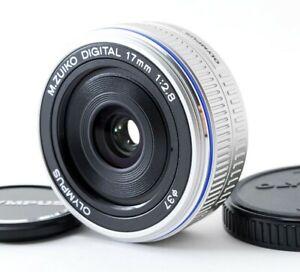 Olympus 17mm f/2.8 M.ZUIKO DIGITAL Wide Angle Prime Lens Used[Near Mint] #708924
