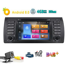 For BMW E39 M5 Android 8.0 4GB RAM Stereo Car DVD Radio GPS Wifi DAB+ Octa-Core~