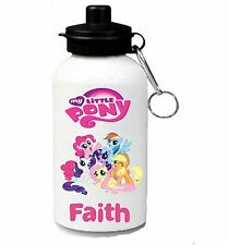 My Little Pony Personalised Kids/Drinks/Sports Waterbottle, School, swimming