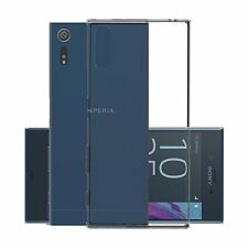 iDefend Sony Xperia XZ Case Clear Gel Silicone Case Cover + Screen Protector