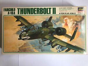 Maquette Vintage Hasegawa 1:72 Fairchild A-10 A Thunderbolt II Réf K17
