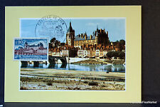 CHATEAU DE GIEN   1973 CARTE MAXIMUM FRANCE Premier Jour 1° FDC Yt 1758c