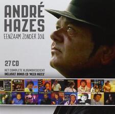 André Hazes : Eenzaam zonder jou - Het complete albumoverzicht (27 CD)