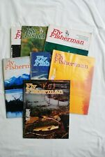 """SEVEN ISSUES OF """"FLY FISHERMAN"""" MAGAZINE FROM THE 1970'S"""
