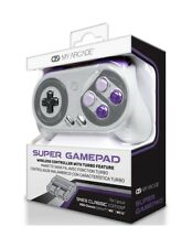 My Arcade Super Game Pad Wireless Controller - SNES Classic, WII & WII U