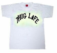 "2pac Shakur Toddler Kids Tshirt ""Thug Life"" Rap Hip Hop Youth Urban 90s Gangsta"