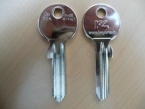 10 x Schlüssel Rohlinge Rohling UN5SA 707 U5SLN U-21 UL051X ABUS UNIVERSAL