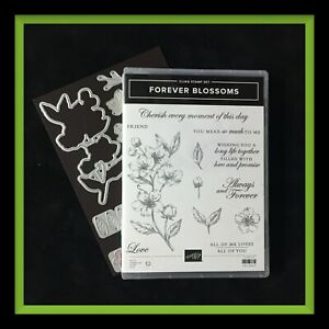 Stampin' Up! FOREVER BLOSSOMS Stamp Set & CHERRY BLOSSOM Dies ***NEW***