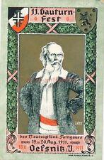 AK, carte postale, 11. gauturnfest Oelsnitz (G) 19182
