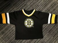 Reebok NHL Boston Bruins Milan  Hockey Jersey 2T