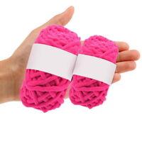 100g Soft Fleece Yummy Super Soft Wool All Colours Knitting Yarn Chunky Baby U
