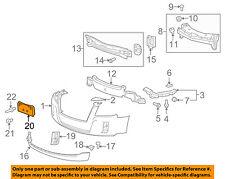 GMC GM OEM Front Bumper Grille Grill-License Bracket Mount Panel 25798784