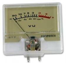 VU METER, retta, 0-200ua ST7 da Anders Electronics