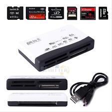 All in 1 Memory Card Reader Usb External Mini Micro Sd Sdhc M2 Ms Mmc Xd Cf New