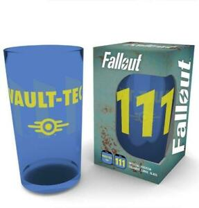 Fallout Vault 111 Large Premium Coloured Glass
