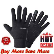 Football Gloves Kids Boys Waterproof Thermal Grip Outfield Field Player Sports