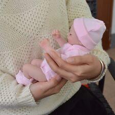 Reborn Newborn Baby 11'' Handmade Girls Dolls Vinyl Soft Silicone Realistic B193
