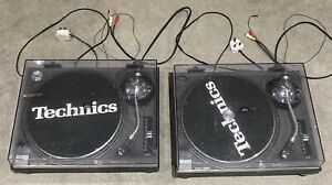 Pair TECHNICS SL-1210MK2 1200 Decks Original Covers VGC