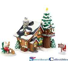 Department 56 North Pole Village Santa's Get-Away Gift Set 4023615
