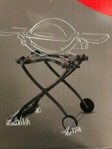 Weber 6557 Q Portable Cart For Grilling - Black