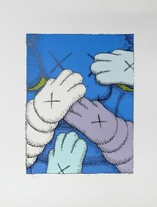 KAWS Urge Signed Screen Print (Pick your color)