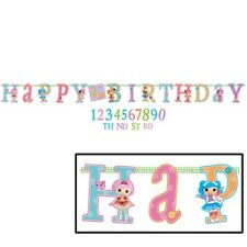 LALALOOPSY JUMBO LETTER BANNER KIT ~ Birthday Party Supplies Hanging Decoration