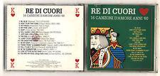 Cd RE DI CUORI 16 Canzoni d'amore anni 60 - Compilation 1993