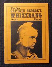 1971 Captain George's WHIZZBANG Fanzine #13 VG+ 4.5 Henry Wilcoxon