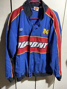 Winner's Circle Vintage Jeff Gordon Dupont Hendrick Motorsport Fan-Jacket Large
