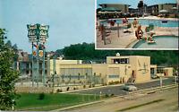 Vintage C. 1950's  South Gate Motor Motel Shirley Rt. 350 Virginia VA Postcard