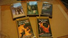 National Geographic Video Classics Lot Five(5) VHS Sealed Elephant Sharks Lions