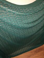 10 MTR PAISLEY GREEN CORDED SLIGHT STRETCH LACE £25 SPECIAL OFFER