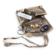 Genuine Italian Army Military Surplus Clothing Repair Sewing Kit w/carry pouch