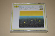 Liszt - 19 Ungarische Rhapsodien / Szidon / Deutsche Grammophon / W. Germany