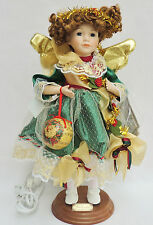 "19"" Telco Victoria Special Addition Animated Xmas Motionette Bisque Figure Doll"