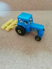 Matchbox Ford Tractor with disc harrow excellent 1978