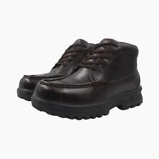 Nike ACG Air Pupsnook Chukka Mens Chunky Leather Hiking Walking Boots UK 6 Brown