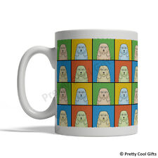 Old English Sheepdog Dog Mug - Cartoon Pop-Art Coffee Tea Cup 11oz Ceramic