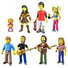 """THE SIMPSONS - 25th Anniversary 5"""" Series 2 Action Figure Set (8) by NECA #NEW"""
