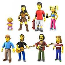 "THE SIMPSONS - 25th Anniversary 5"" Series 2 Action Figure Set (8) by NECA #NEW"