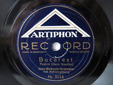 78rpm Jazz Sinfonie Orch: ICH REISS MIR EINE WIMPER AUS / BUCAREST - 1928
