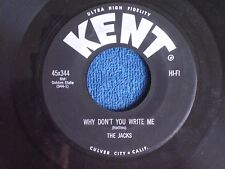 The Jacks/Why Don't You Write Me-This Empty Heart/Kent 45x344/MINT-