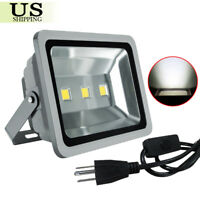 2 Pack 150W Waterproof LED Flood Lights Landscape Outdoor Floodlights Cool White