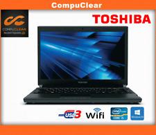 "Toshiba R830 13.3"" Laptop, Intel Core i5 2.5Ghz, 4GB RAM, 500GB HDD, Windows 10"