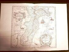 Calabria ulteriore G.Antonio Magini o Maginus Atlante d'Italia 1620 Ristampa