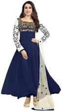 Indian Designer Party Wear SEMI Stitched Suit Ethnic Anarkali Salwar Kameez