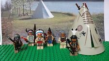 LEGO Indians Native American Minifigures lot NEW 100% Genuine LEGO READ PLZ