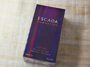 Escada Magnetism for men EDT Spray 100 ml 3.4 oz OR 50 ml 1.7 oz Vintage, Sealed